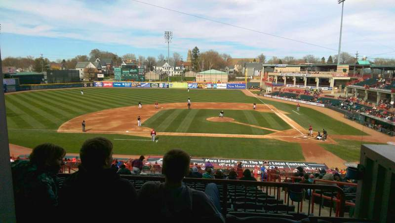 Seating view for UPMC Park Section Suite Row 3 Seat 13