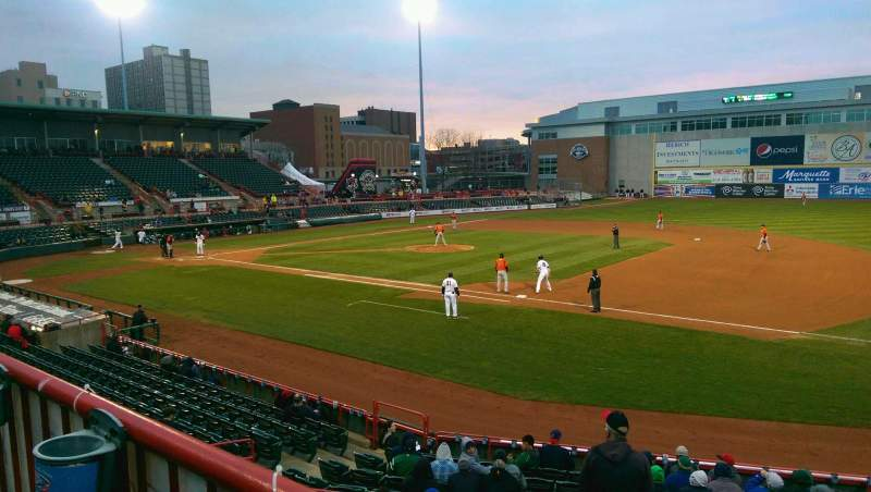 Seating view for UPMC Park Section 201 Row AA Seat 6