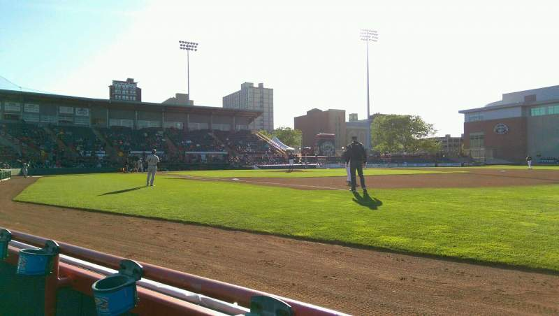 Seating view for UPMC Park Section 103 Row A Seat 1
