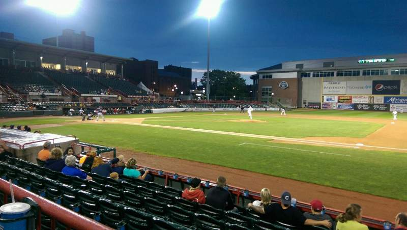 Seating view for UPMC Park Section 105 Row G Seat 3