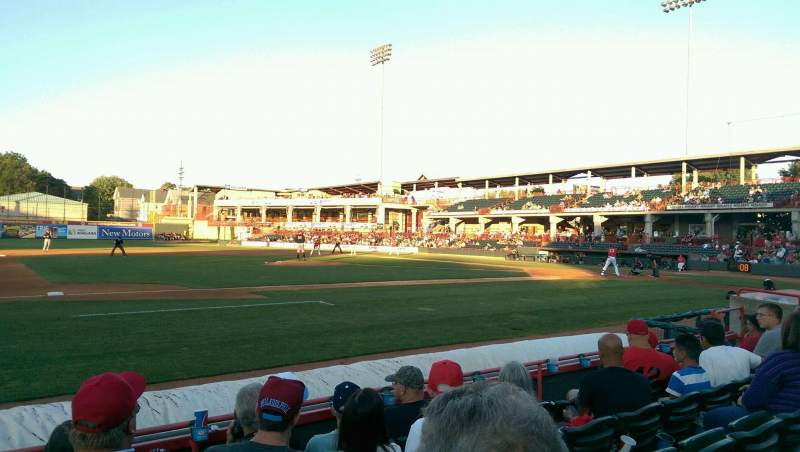 Seating view for UPMC Park Section 113 Row E Seat 17