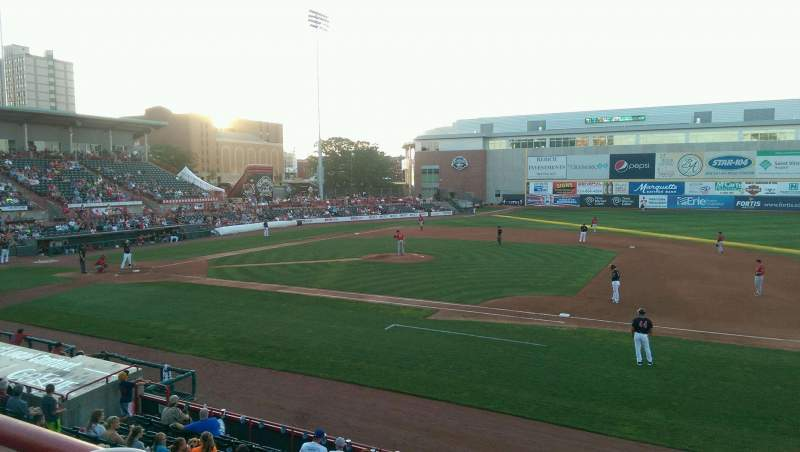 Seating view for UPMC Park Section 202 Row AA Seat 2