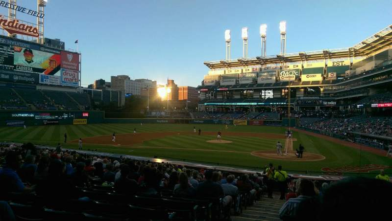 Seating view for Progressive Field Section 157 Row CC Seat 14