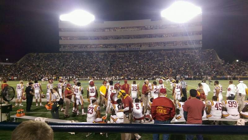 Seating view for Glass Bowl Section 24 Row A Seat 13