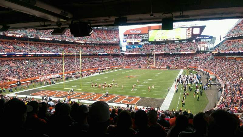 Seating view for FirstEnergy Stadium Section 149 Row 38 Seat 17