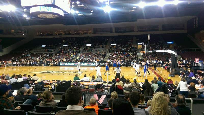 Erie Insurance Arena, section: 120, row: H, seat: 3