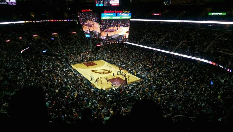 Seating view for Quicken Loans Arena Section 231 Row 6 Seat 13