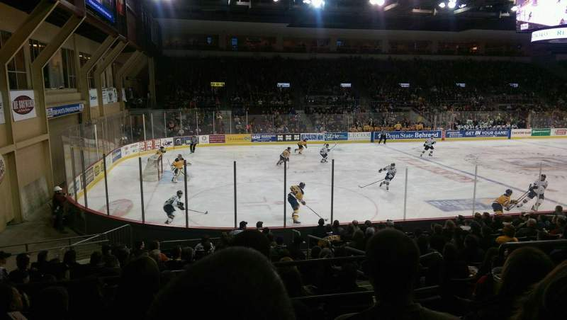 Seating view for Erie Insurance Arena Section 201 Row P Seat 6