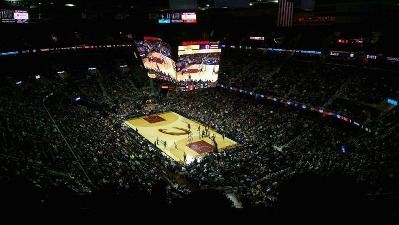 Seating view for Quicken Loans Arena Section 231 Row 12 Seat 13