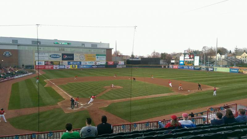 Seating view for UPMC Park Section 205 Row HH Seat 14