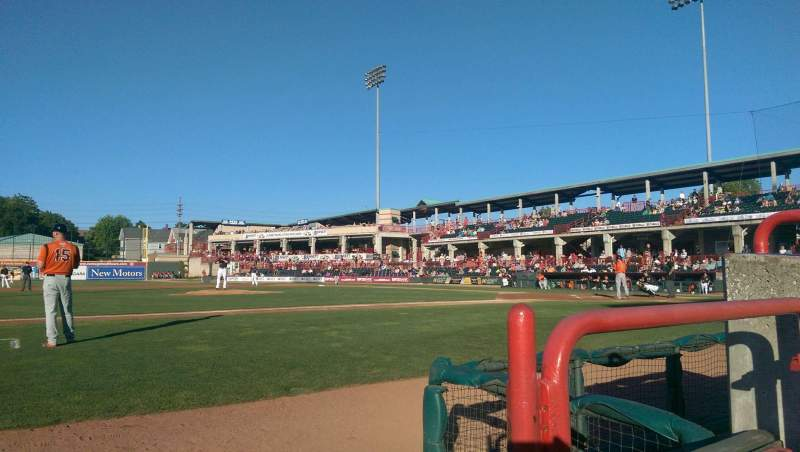 Seating view for UPMC Park Section 113 Row A Seat 2