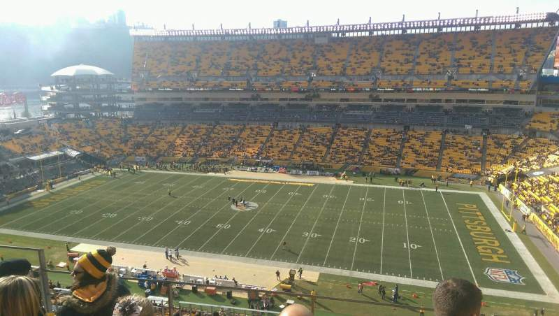Seating view for Heinz Field Section 513 Row J Seat 15