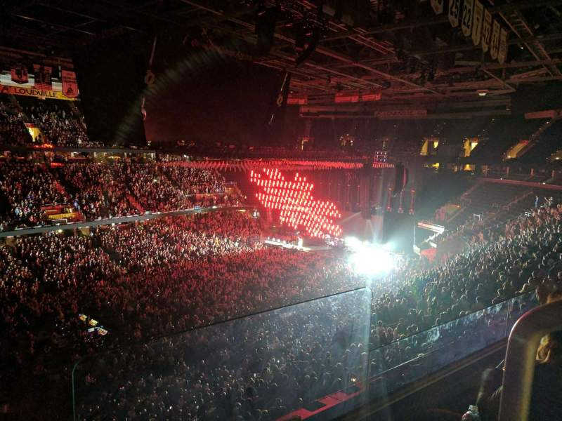 Quicken Loans Arena, section: 205, row: 2, seat: 16
