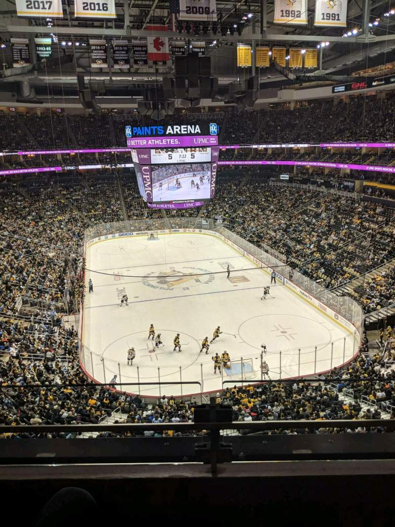 PPG Paints Arena, section: 229, row: B, seat: 11