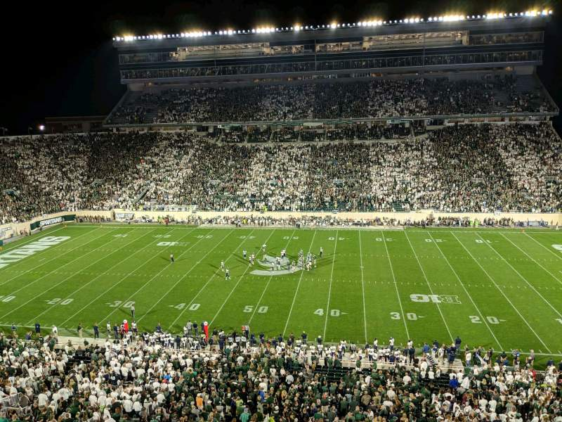 Seating view for Spartan Stadium Section 108 Row 2 Seat 12