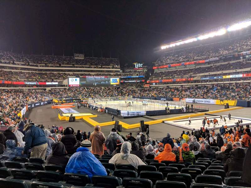 Seating view for Lincoln Financial Field Section 127 Row 28 Seat 12