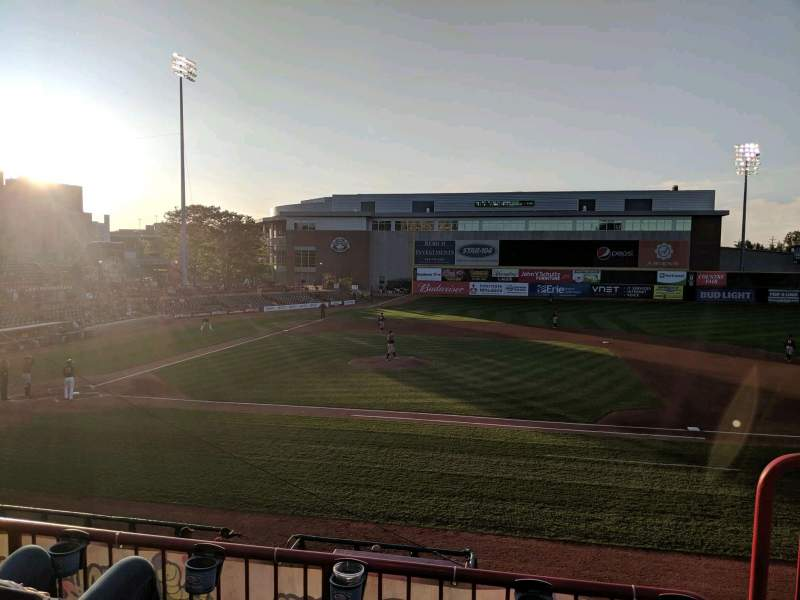 Seating view for UPMC Park Section 203 Row CC Seat 2