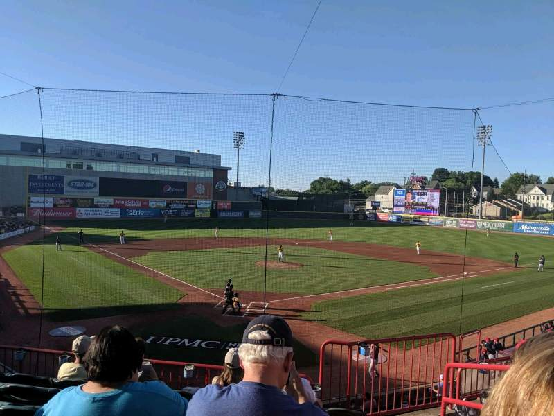 Seating view for UPMC Park Section 206 Row FF Seat 3