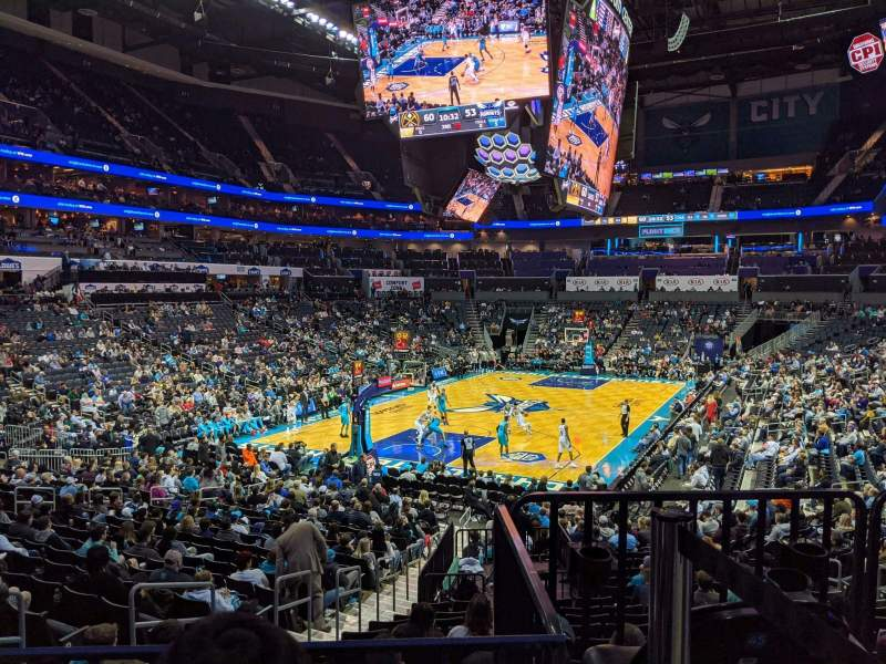 Seating view for Spectrum Center Section 116 Row T Seat 46
