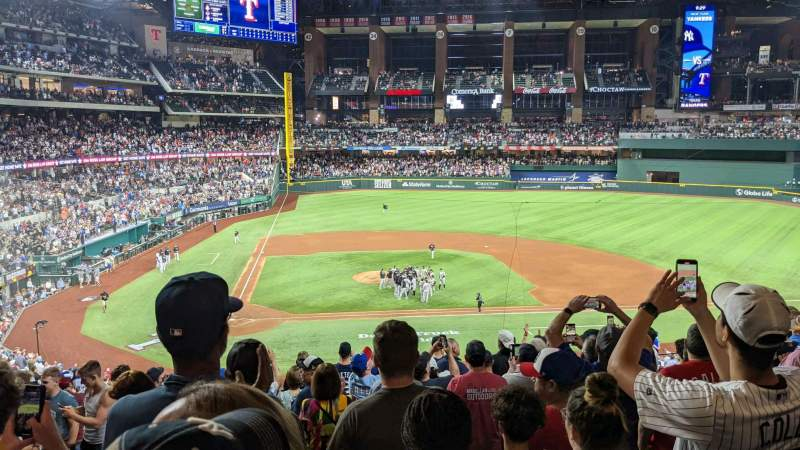 Seating view for Globe Life Field Section 118 Row 11 Seat 6