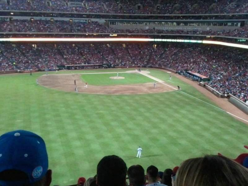 Seating view for Globe Life Park in Arlington Section 202 Row 9 Seat 11