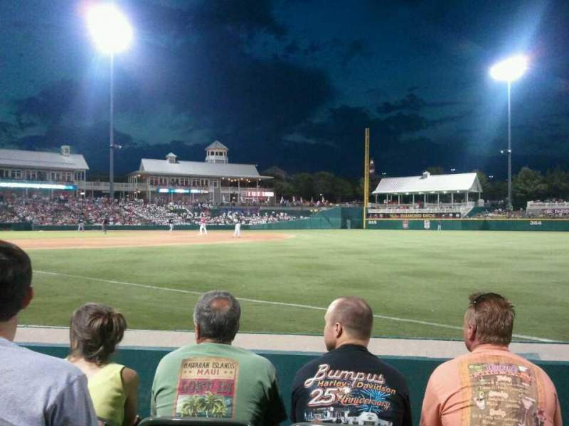 Seating view for Dr Pepper Ballpark Section 124 Row 4 Seat 3