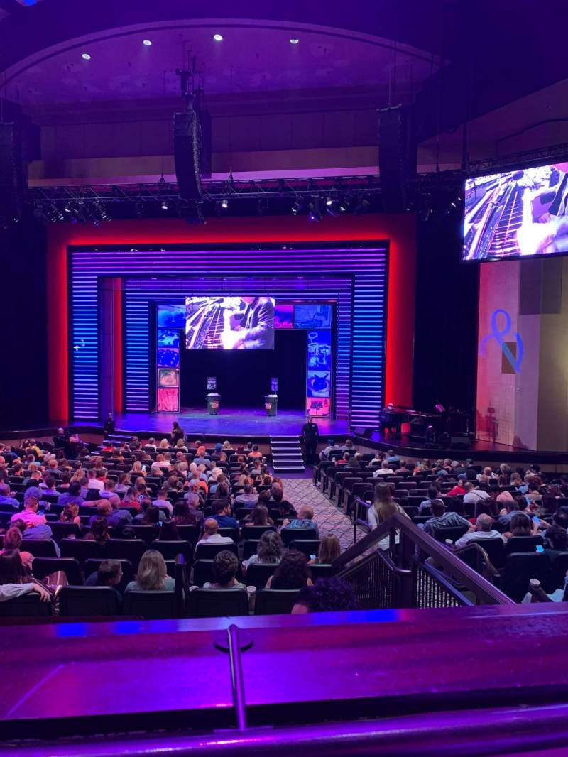 Seating view for Penn & Teller Theater Section 5 Row AA
