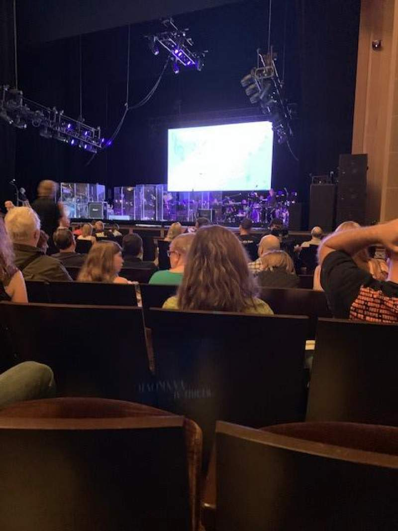 Seating view for Reynolds Hall at The Smith Center Section Orchestra R Row J Seat 307