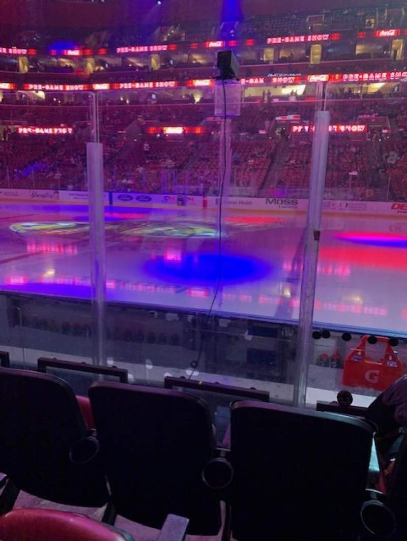 Seating view for BB&T Center Section 134 Row 5 Seat 8
