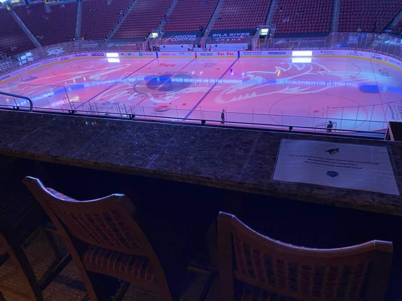 Seating view for Gila River Arena Section 1104