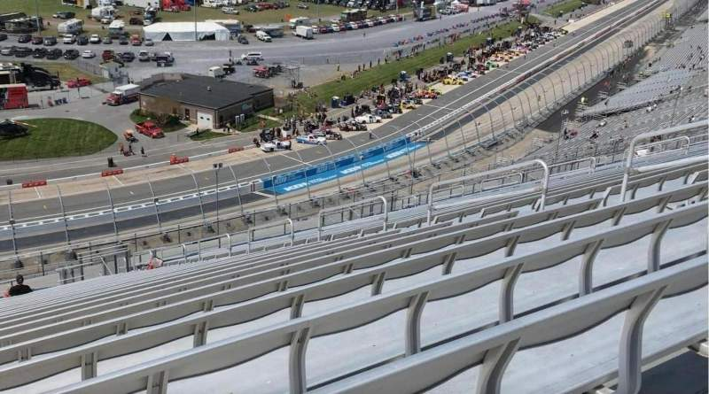 Seating view for Dover International Speedway Section 120 Row 60