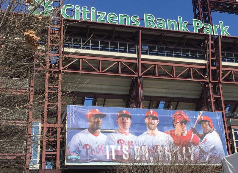 Seating view for Citizens Bank Park Section EXTERIOR