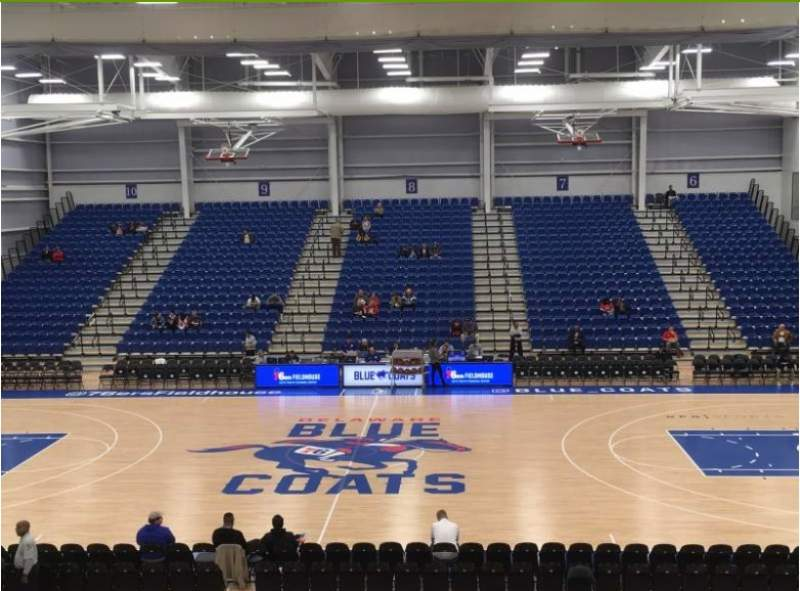 Seating view for 76ers Fieldhouse Section 4 Row 19 Seat 1