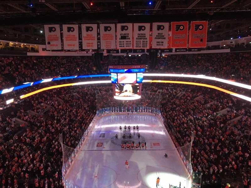 Seating view for Wells Fargo Center Section 219A Row 13 Seat 1