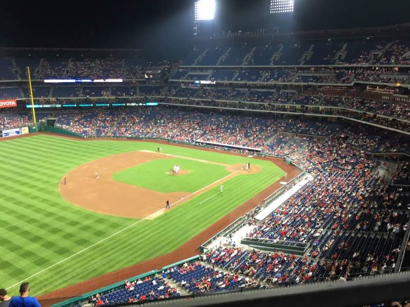 Seating view for Citizens Bank Park Section 432 Row 1