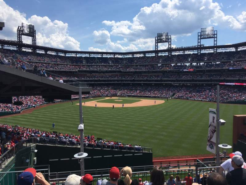 Seating view for Citizens Bank Park Section ROOFTOP BLEACHERS Row 7 Seat 1