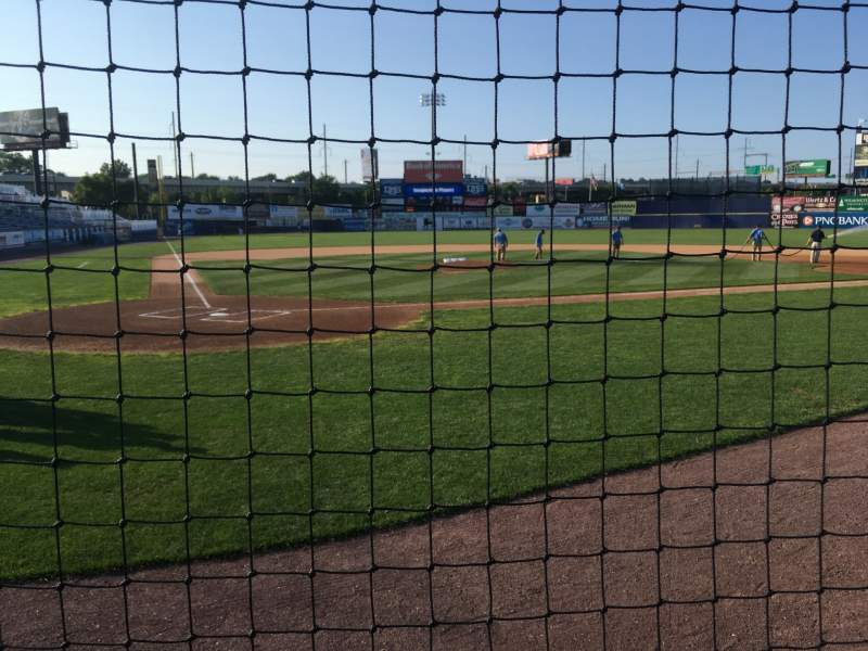Seating view for Frawley Stadium Section 13 Row 1 Seat 1