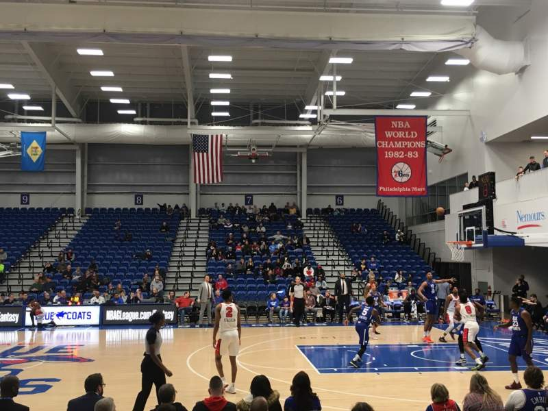 Seating view for 76ers Fieldhouse Section 4 Row 5 Seat 1