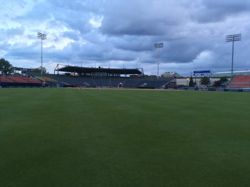 Seating view for FirstEnergy Stadium (Reading) Section OUTFIELD Row FIELD
