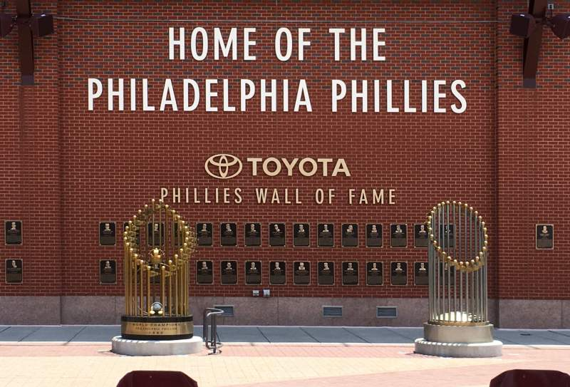 Seating view for Citizens bank park Section WALL Row OF  Seat FAME