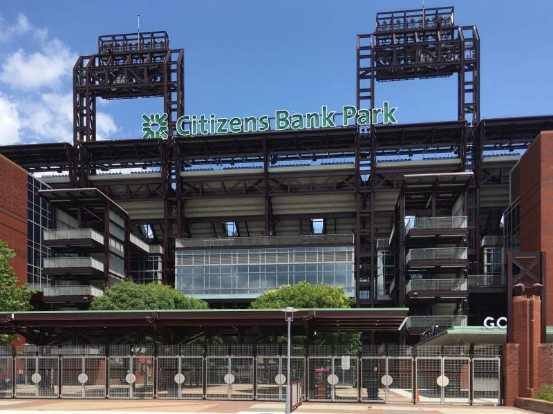 Seating view for Citizens Bank Park Section Third Base Gate