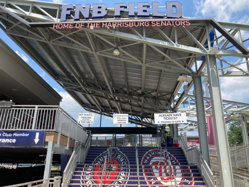 Seating view for FNB Field Section MAIN ENTRANCE