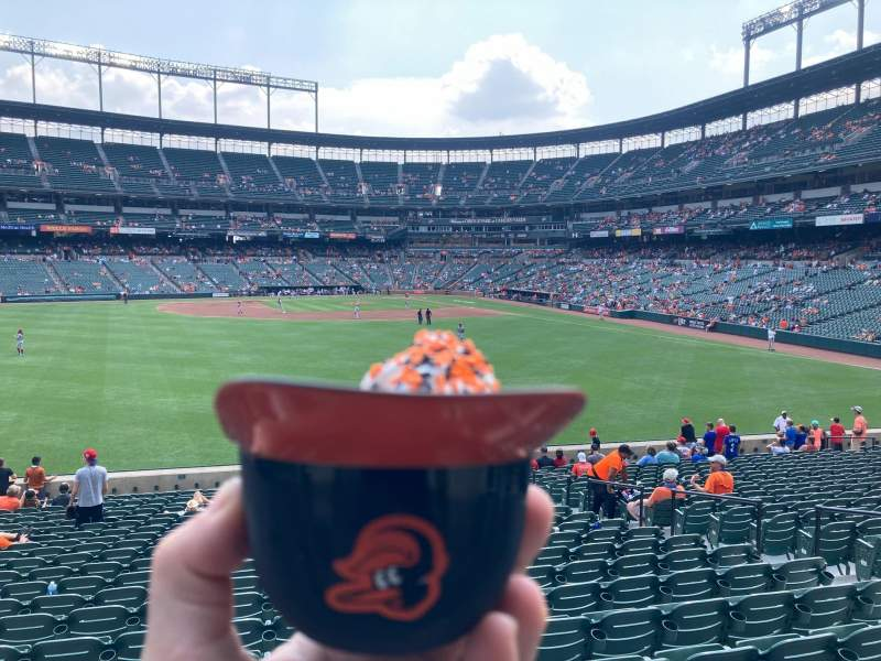 Seating view for Oriole Park at Camden Yards Section 84 Row 23 Seat 1