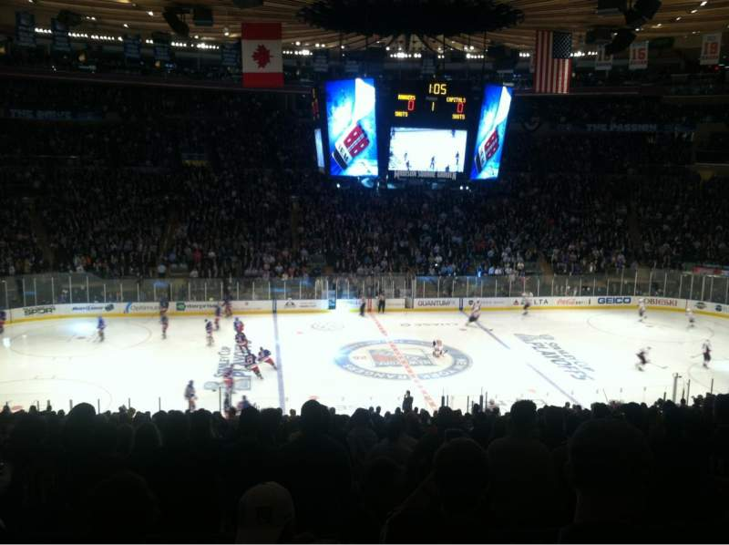Seating view for Madison Square Garden Section 336 Row D Seat 10