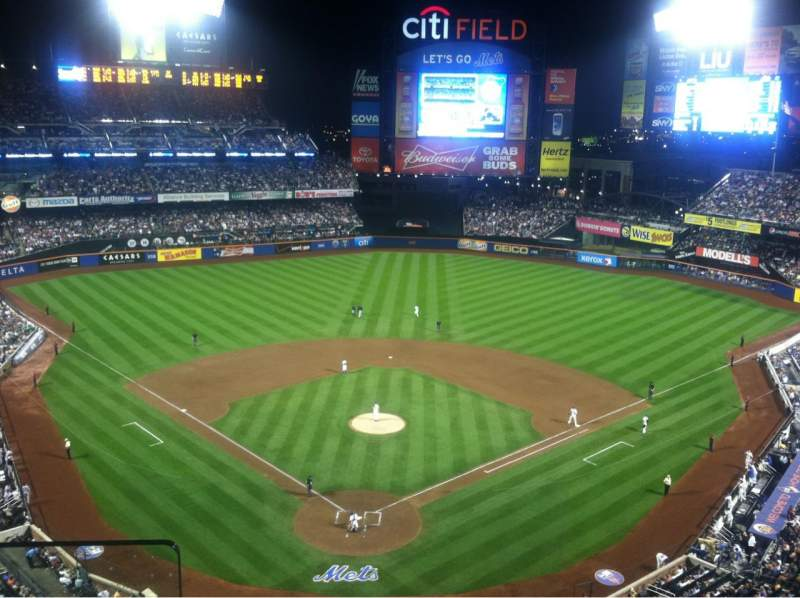Seating view for Citi Field Section 513 Row 2 Seat 1