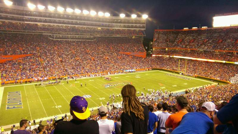 Seating view for Ben Hill Griffin Stadium Section 43 Row 81 Seat 9