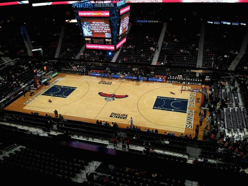 Seating view for Philips Arena Section Suite seats