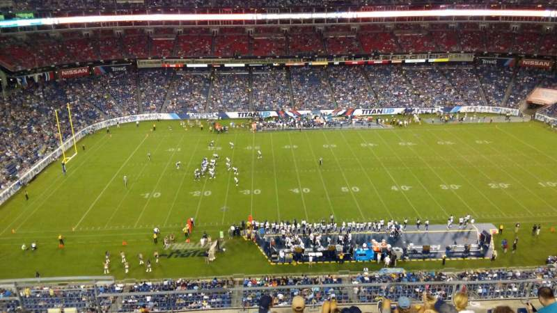 Seating view for Nissan Stadium Section 313 Row H Seat 14