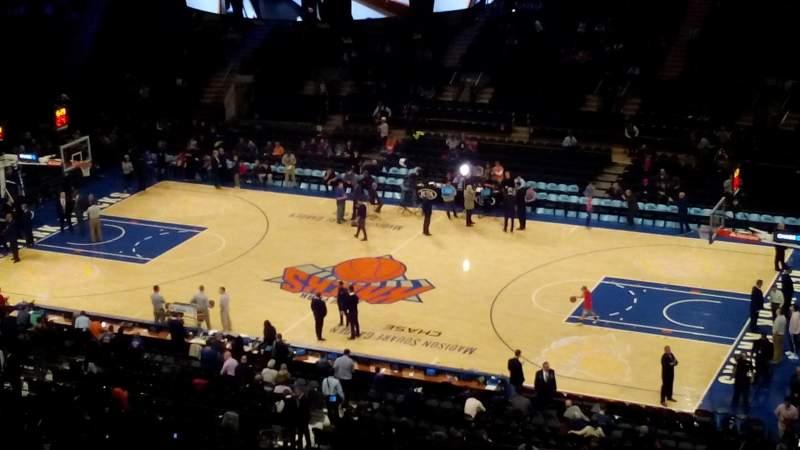 Madison Square Garden: Madison Square Garden Section 213 Row 14 Seat 12