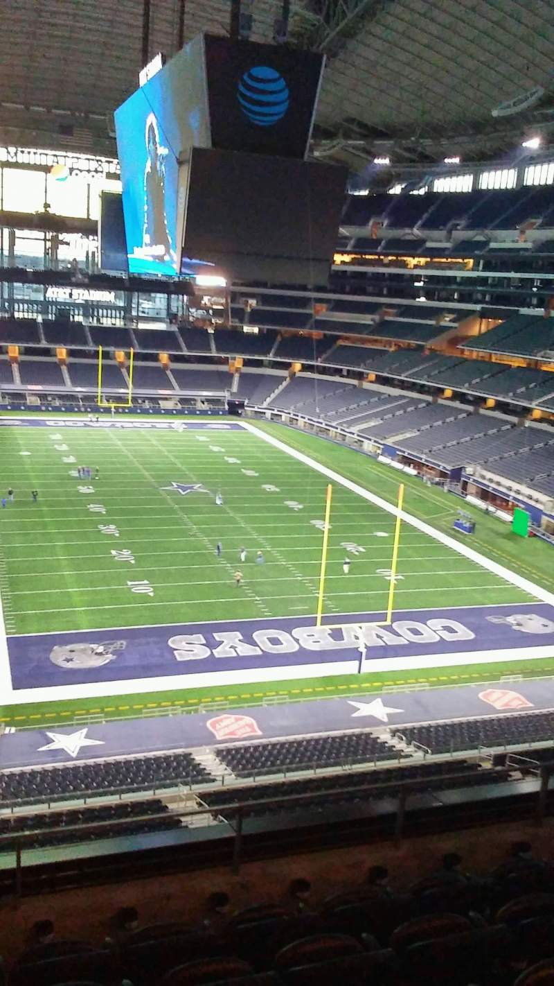 AT&T Stadium, section: 350, row: 5